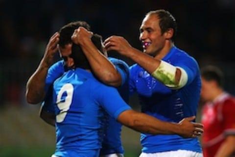 l'Italia del rugby batte la russia ai mondiali