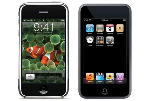 comparazione tra i modelli di iPod e iPhone protagonisti del mercato mobile Apple